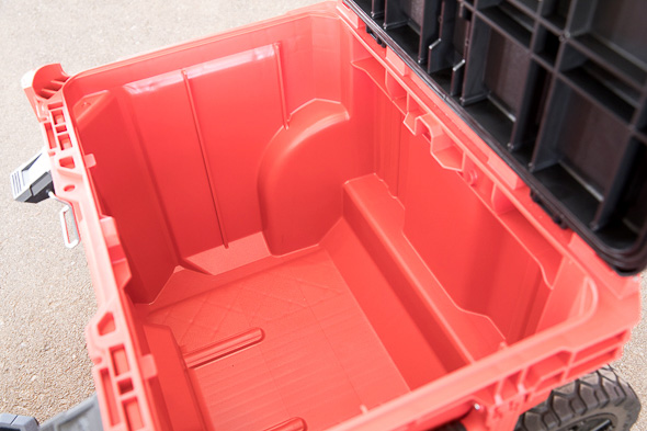 Milwaukee Packout Tool Storage Roller Tool Cart Empty