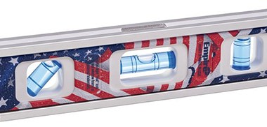 Empire American Flag Torpedo Level