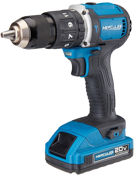 Harbor Freight Hercules Cordless Hammer Drill