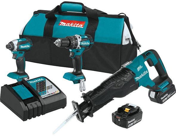 Makita XT328M 18V Brushless Combo Kit
