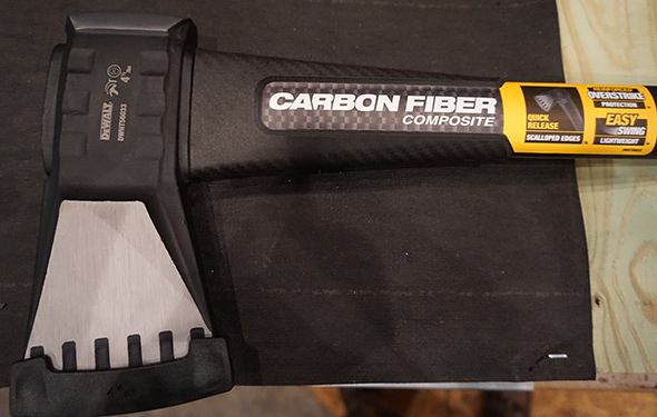 Dewalt Axe with Carbon Fiber Strike Protection