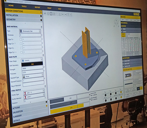 Dewalt Design Assistant example