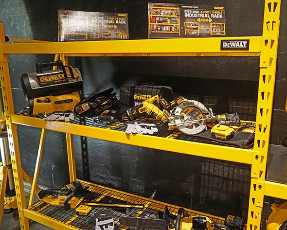 Dewalt Industial Rack