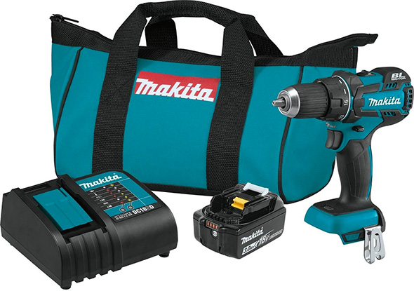 Makita XFD061 18V Brushless Drill Kit