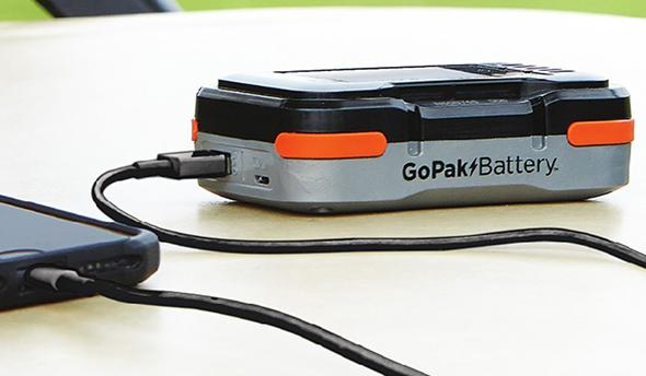 Black and Decker GoPak Battery closeup