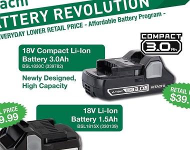 Hitachi Battery Revolution