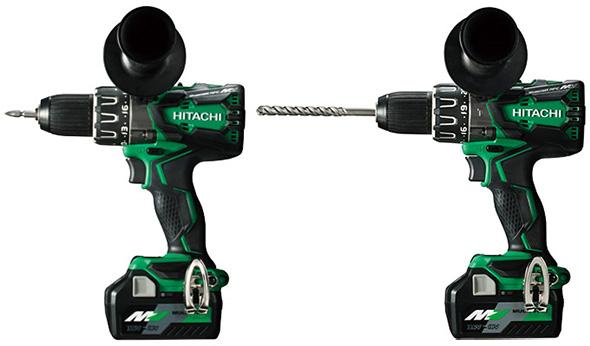 Hitachi MultiVolt Drill and Hammer Drill
