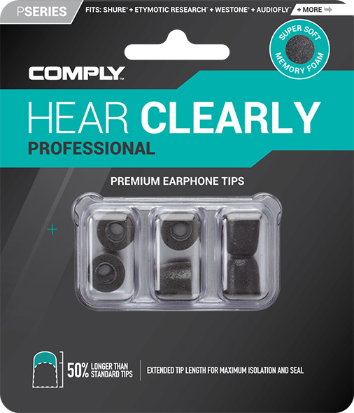 Replacement memory foam ear tips for Isotunes Pro