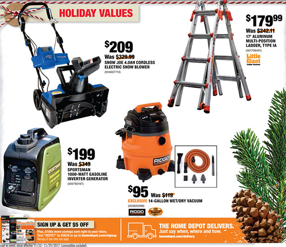 Home Depot Black Friday 2017 Online Only Tool Deals Page 2