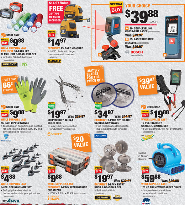 Home Depot Black Friday 2017 Tool Deals Ad Page 14
