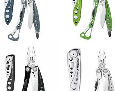 Leatherman Skeletool Multi-Tool and Knife Gift Set Color Options