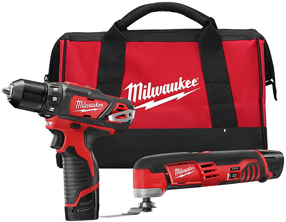 Milwaukee M12 Drill and Oscillating Multi-Tool Combo Set