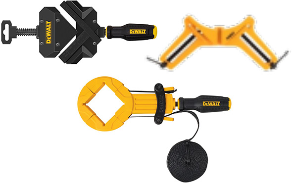 Dewalt Right Angle Clamps