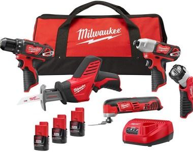 Milwaukee M12 5-Tool Cordless Combo Kit