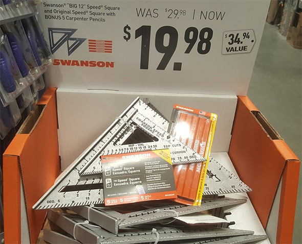 Swanson Speed Square and Pencil Set