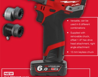 Milwaukee M12 Fuel Multi-Head Drill
