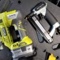 Ryobi Cordless Pin Nailer Compared to Hitachi Air Nailer