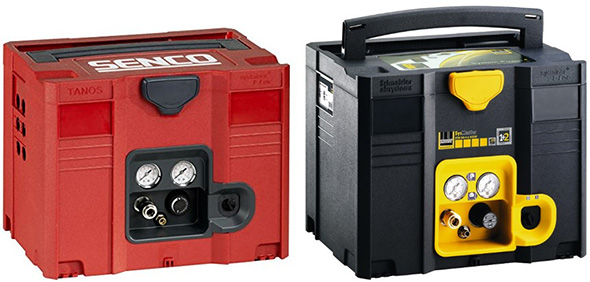 Senco and Schneider Systainer Air Compressors