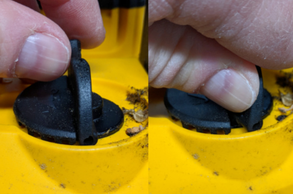 Dewalt 20V Max Chainsaw Oil Fill Cap