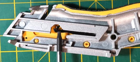 Dewalt Utility Knife Blade Change Lever 2