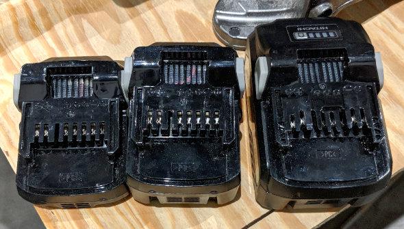 Hitachi Battery Size Comparison
