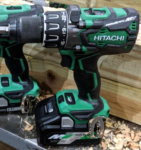 Hitachi MV 36V Hammer Drill