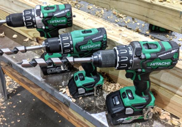 Hitachi MV36V Hammer Drill vs 18V Drill and 18V Hammer Drill