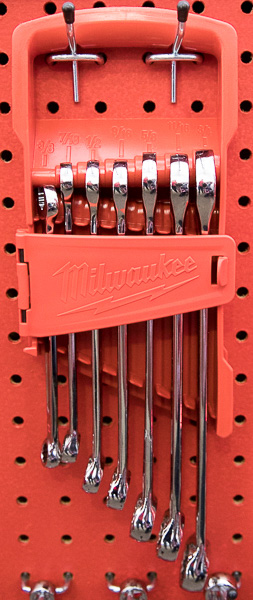 Milwaukee Combination Wrench Small Inch Set