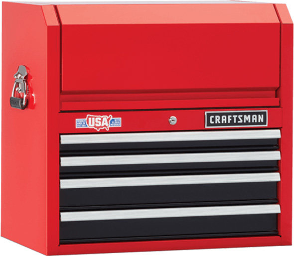 Craftsman Red and Black Tool Chest