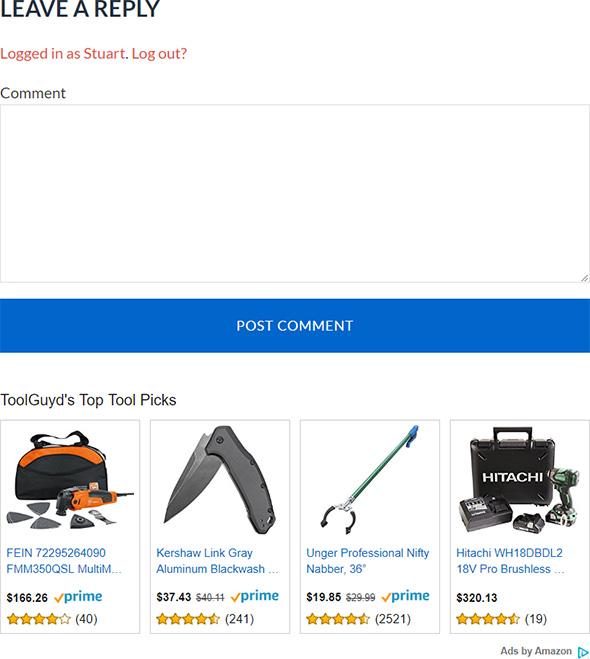 Amazon Widget