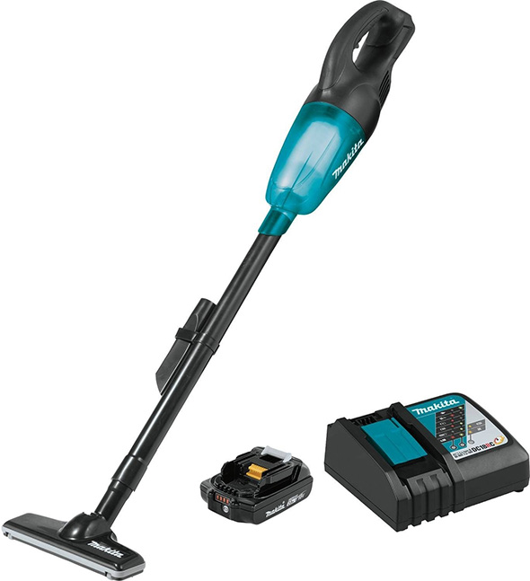 Makita XLC02R1B Cordless Vacuum Kit