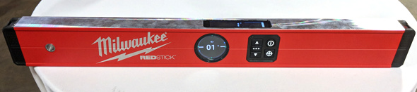 Milwaukee Redstick Digital Level powered by RedLithium USB