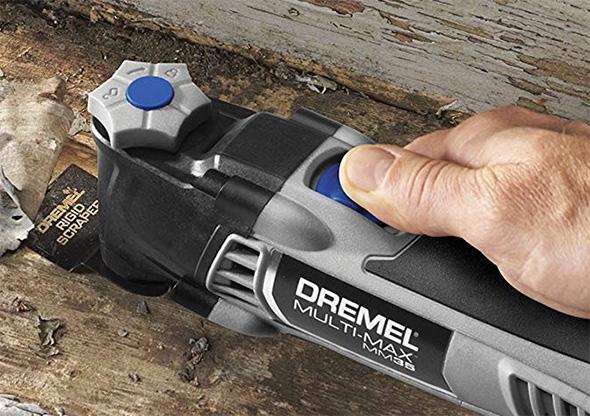Dremel MM35 Multi-Max Oscillating Multi-Tool Blade Change Mechanism