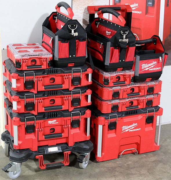 Milwaukee Packout Wheeled Dolly Stack
