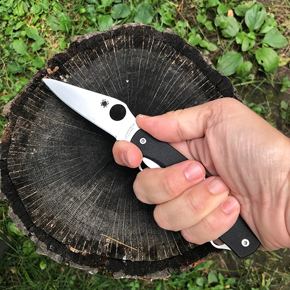 Spyderco Clipitool Knife Multi-Tool in Closed Hand