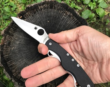 Spyderco Clipitool Knife Multi-Tool in Hand