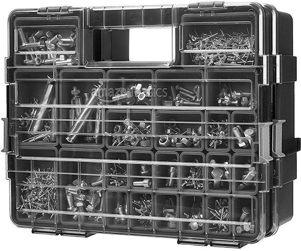 Amazon Basics Parts Organizers Connected