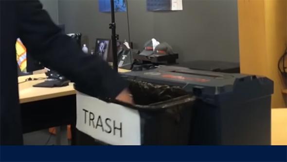 Bosch Tools NA CEO Trash can
