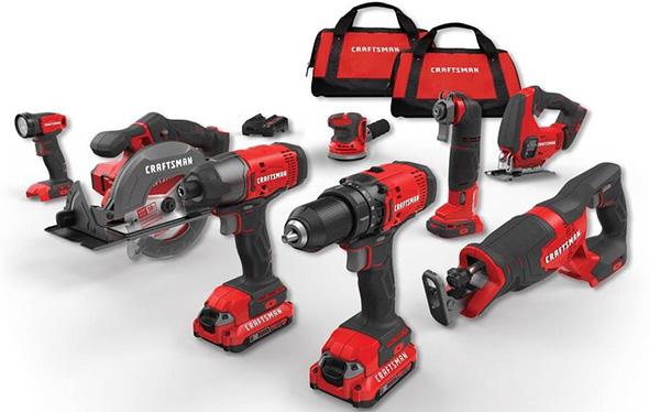 Craftsman 20V Cordless Power Tool Combo Kit
