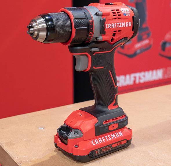 Craftsman V20 Brushless Drill New for 2018