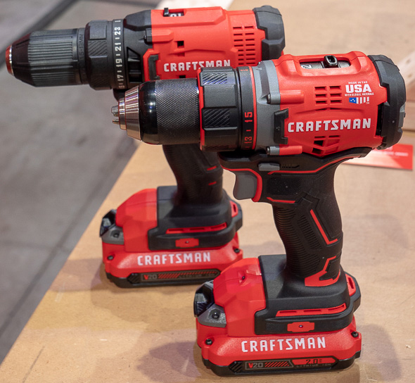 Craftsman V20 Cordless Drill Comparison Brushless vs Brushed