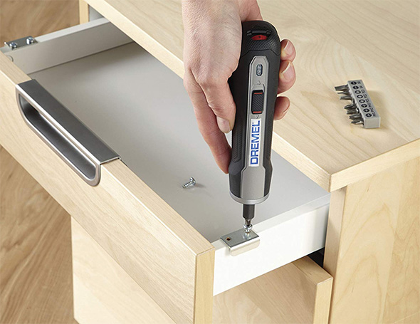 Dremel Go Cordless Screwdriver Assembling Ikea Furniture