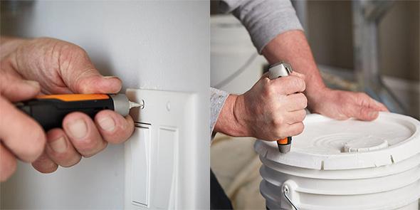 Fiskars Pro Painters Utility Knife Functions