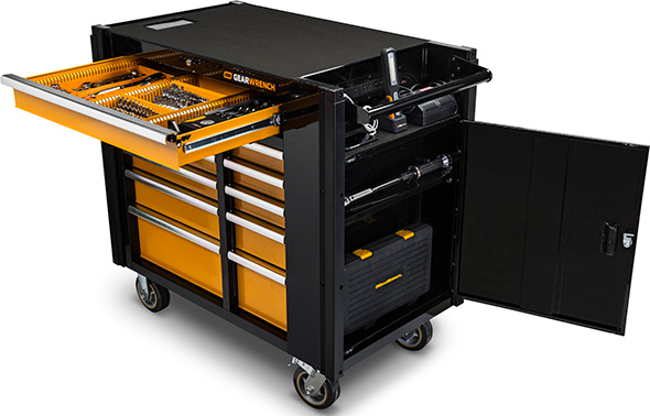 Gearwrench Mobile Tool Cart Features
