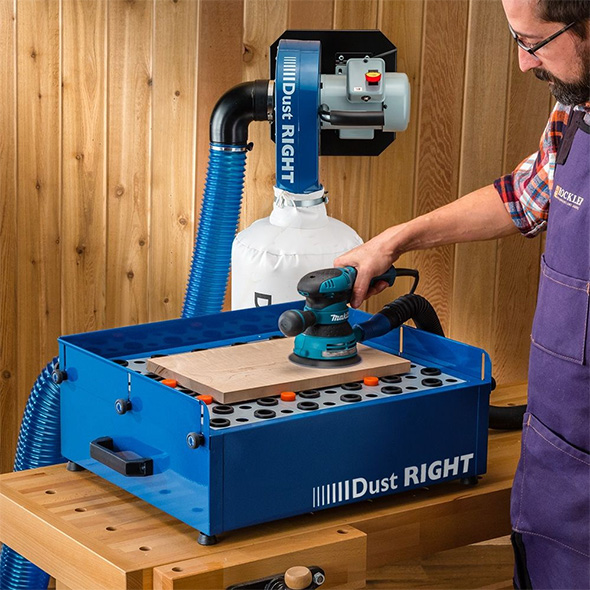 Rockler Dust Right Downdraft Table with Raised Walls
