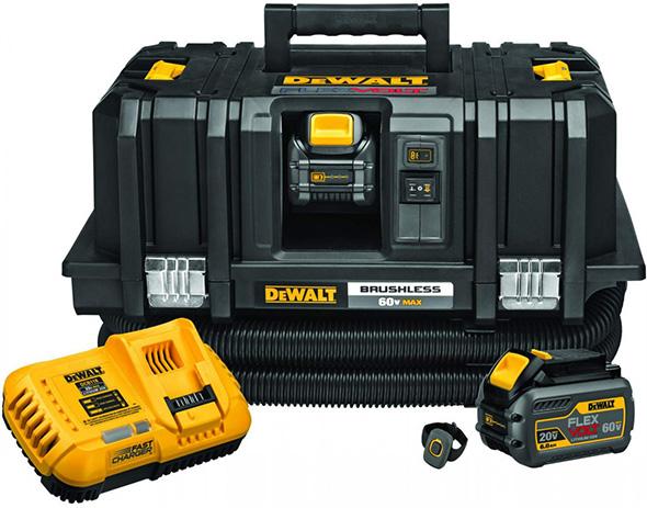 Dewalt DCV585T2 FlexVolt Vacuum Dust Extractor Kit with Wireless Remote