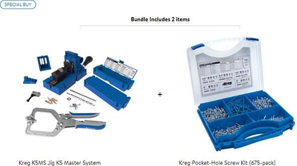 Kreg K5 Master Deal at Walmart
