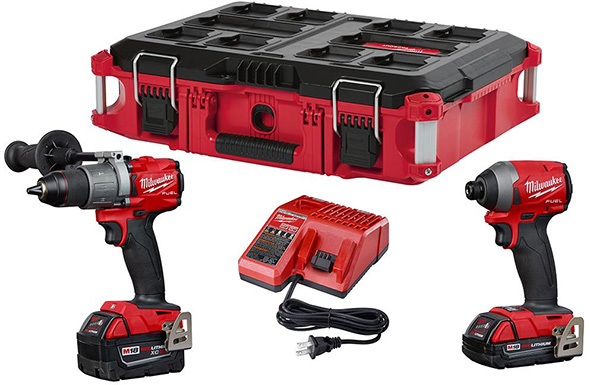 Milwaukee 2997-22CXPO M18 Fuel Packout Combo