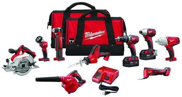 Milwaukee M18 2695-29 Cordless Power Tool Combo Kit