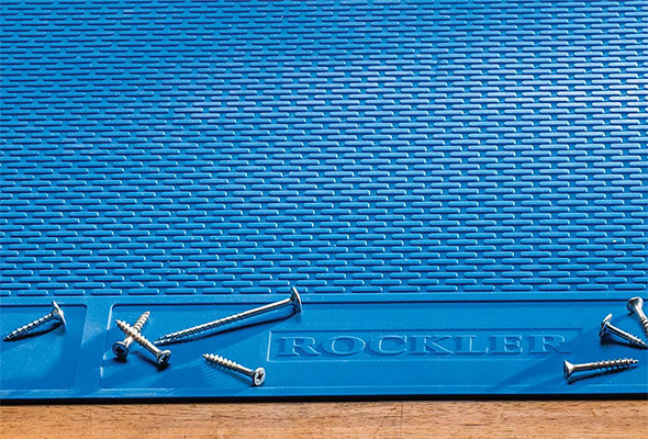 Rockler Silicone Project Mat XL Small Parts and Screw Zone
